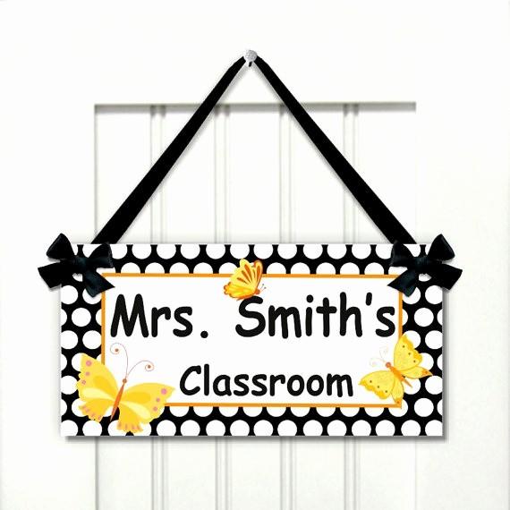 Teacher Name Signs for Classroom Unique Teacher Door Signs Related Keywords Teacher Door Signs