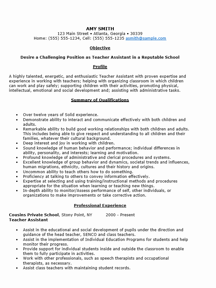 Teacher Resume Template Word Free Unique Teacher Resume Template Word