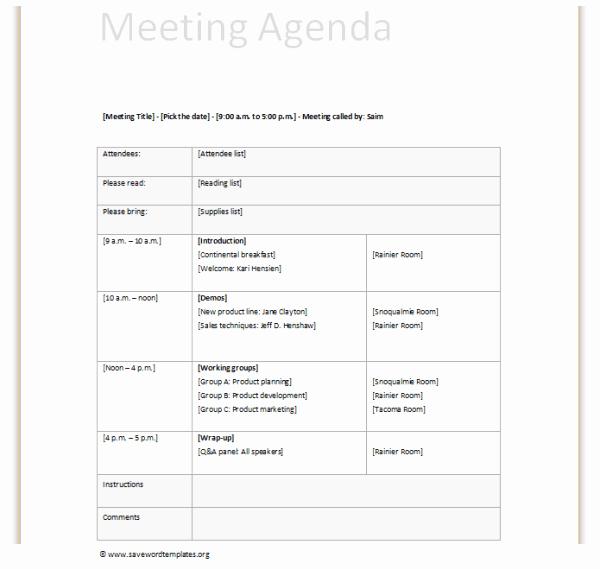 Teacher Team Meeting Agenda Template Lovely Meeting Agenda