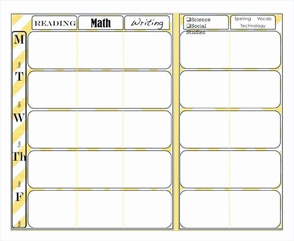 Teacher Weekly Lesson Plan Template New Teacher Weekly Planner Template – Azserverfo