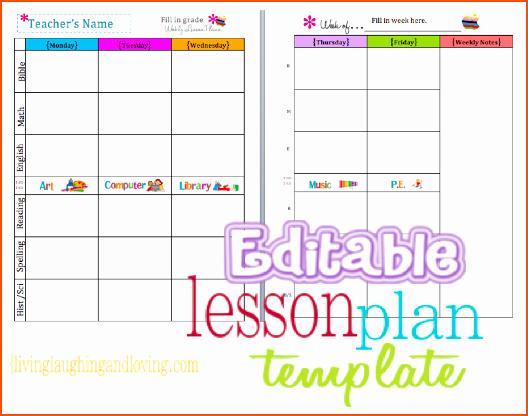 Teacher Weekly Planner Template Download Awesome 8 Teacher Planner Template Bookletemplate