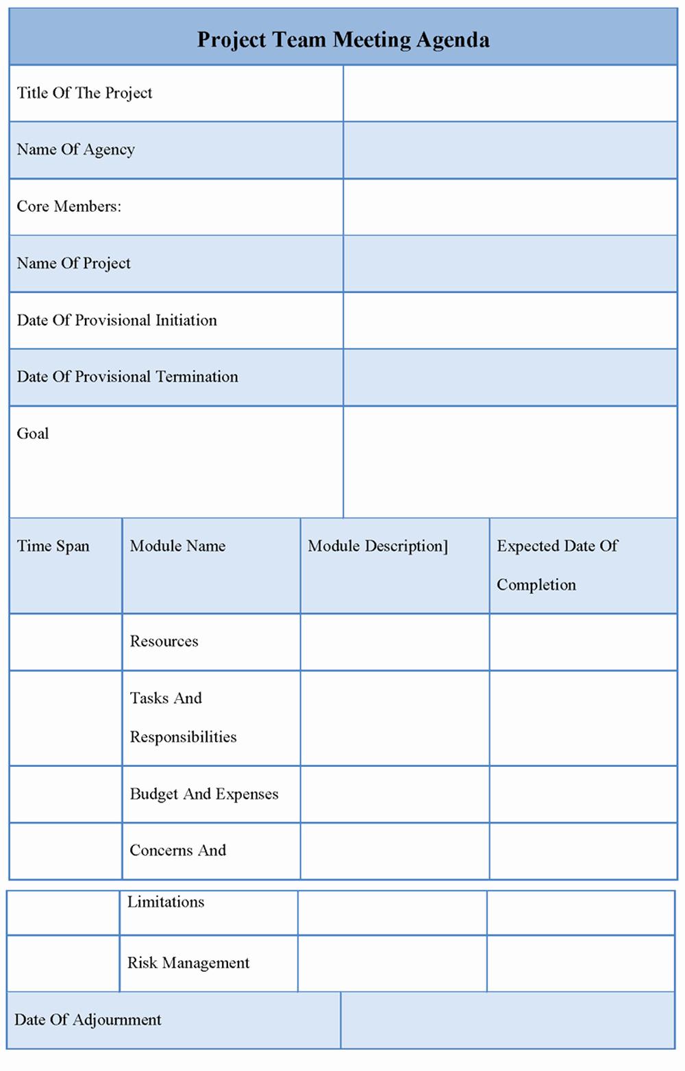 Team Meeting Agenda Template Word Elegant 9 Best Of Team Meeting Agenda Template Team