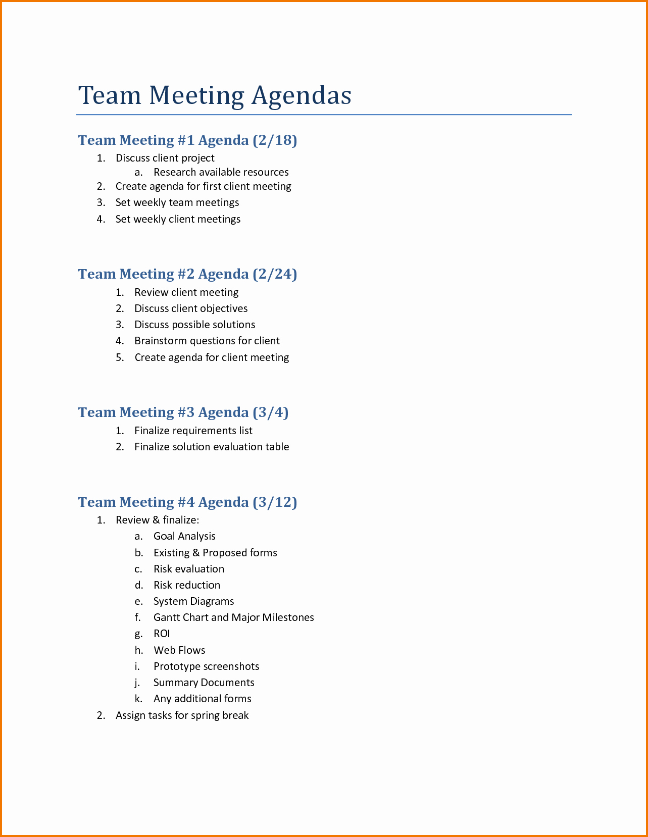Team Meeting Agenda Template Word Luxury 5 Team Meeting Agenda Template