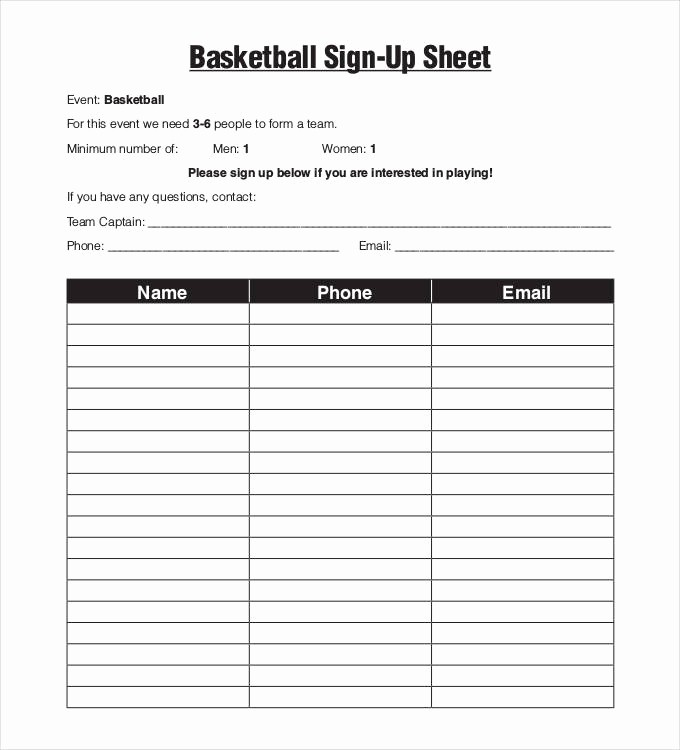 Team Snack Sign Up Sheet Awesome Team Snack Schedule Template Here is Link for