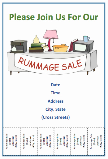 Tear Off Flyer Template Photoshop Elegant Tear F Flyer Template for Sales Free Flyer Templates