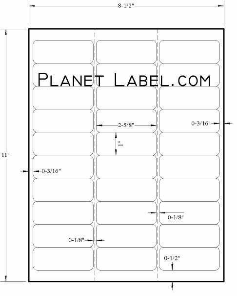 Template for 5160 Avery Labels Elegant Letter Template Avery Label Template 5160 Personal
