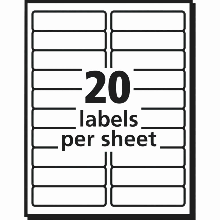 Template for 5160 Avery Labels Fresh Avery Labels 5160 Template Blank Collection Address