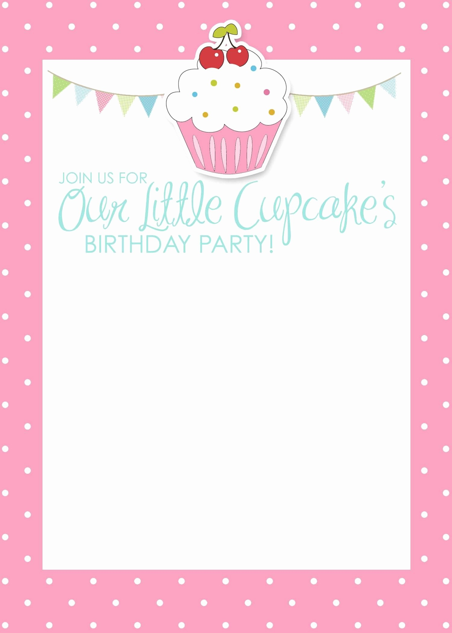 Template for A Birthday Card Best Of Birthday Invitation Card Template Free