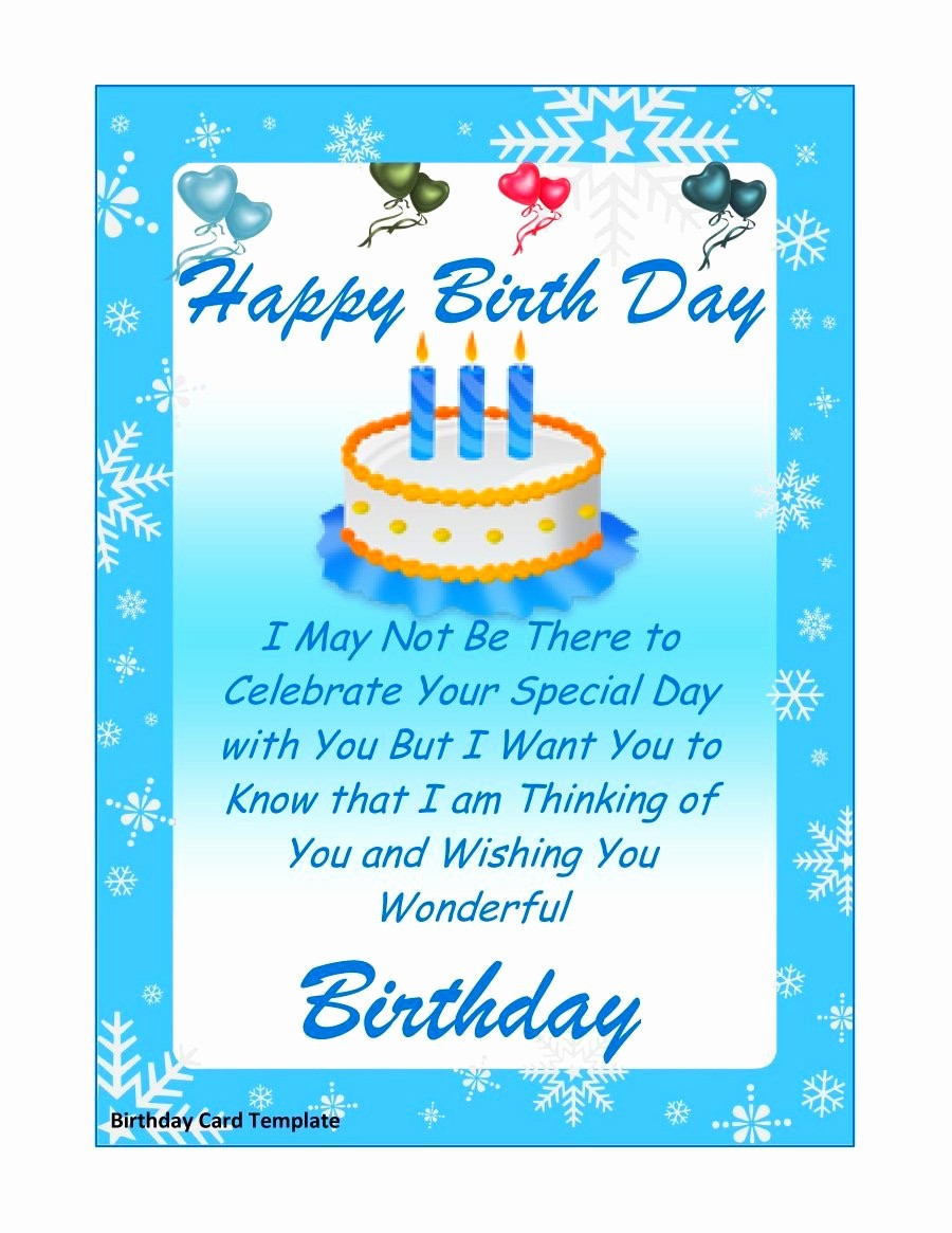 Template for A Birthday Card Fresh Birthday Card Layout Mughals