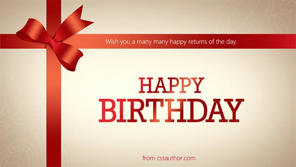 Template for A Birthday Card Fresh Birthday Card Template 11 Psd Illustrator Eps format