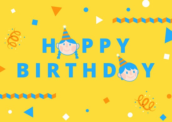 Template for A Birthday Card Fresh Customize 884 Birthday Card Templates Online Canva