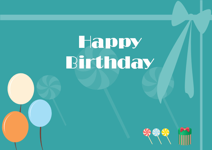Template for A Birthday Card Lovely Free Editable and Printable Birthday Card Templates