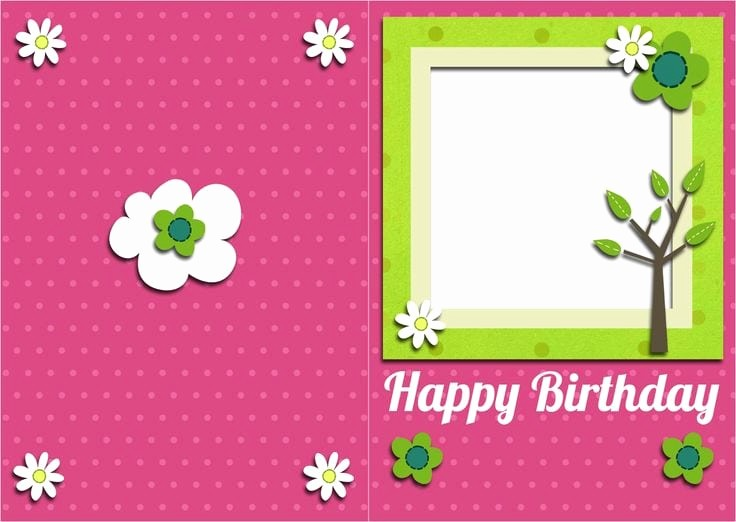 Template for A Birthday Card Luxury top 5 Free Birthday Card Templates Word Templates Excel