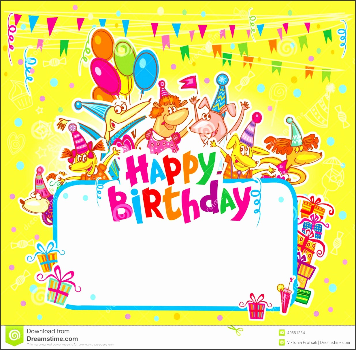 Template for A Birthday Card Unique 5 Happy Birthday Card Template Free Download