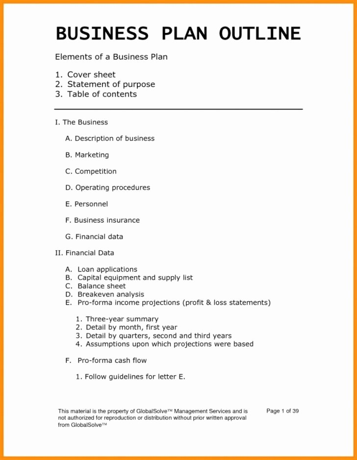 Template for A Business Plan Awesome formidable Small Business Plan Template Templates Free Pdf