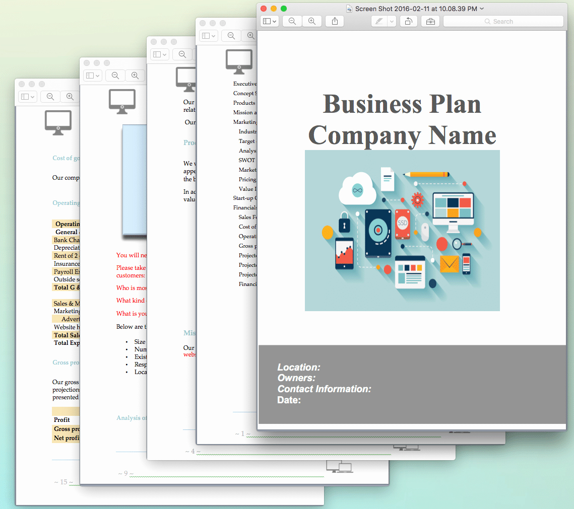 Template for A Business Plan Awesome Website Design and Development Business Plan Sample Pages