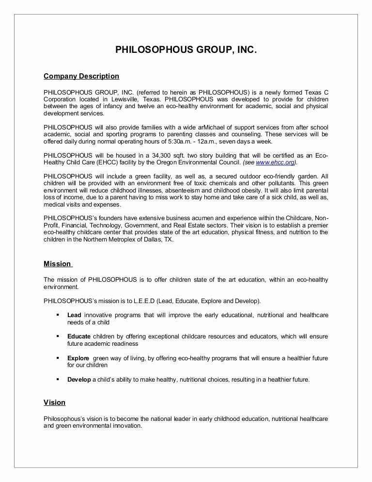 Template for A Business Plan Best Of Sample Business Plan Synopsis