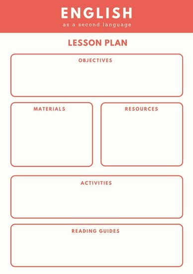 Template for A Lesson Plan New Customize 1 304 Lesson Plan Templates Online Canva