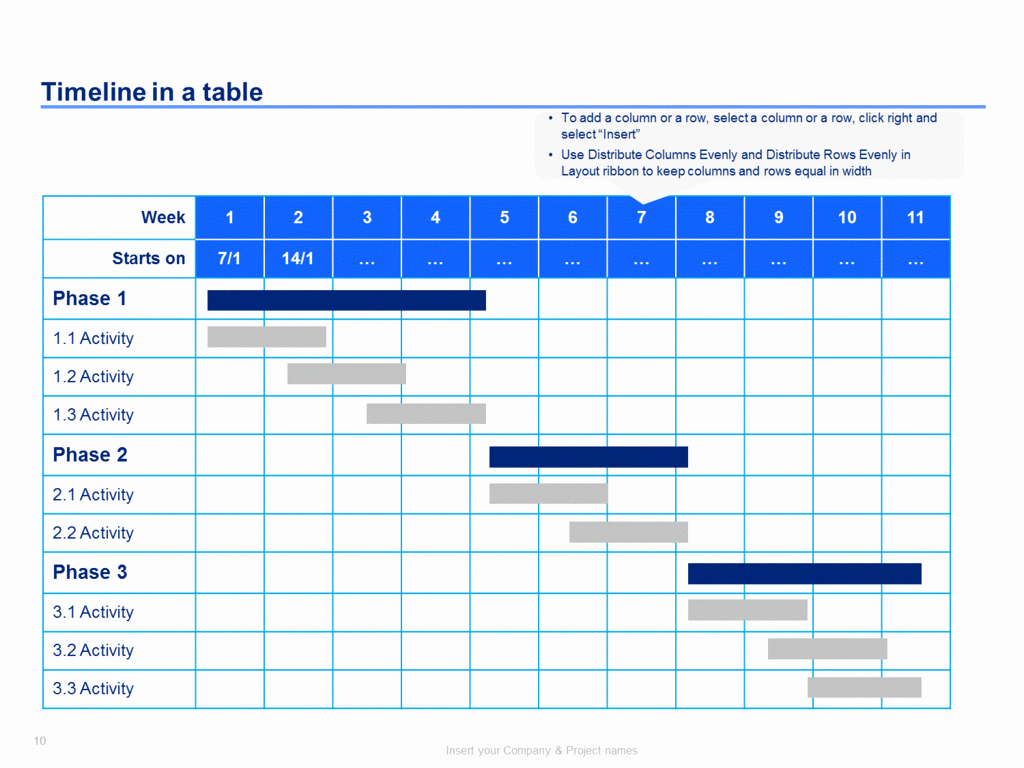 Template for A Project Plan Beautiful Download now 10 Project Plan Templates & Project Timeline