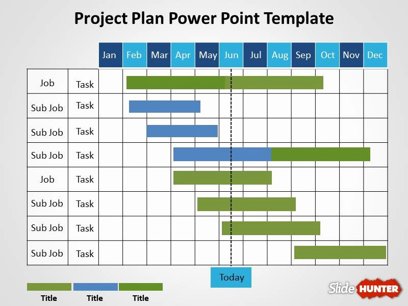 Template for A Project Plan Inspirational Free Project Plan Powerpoint Template