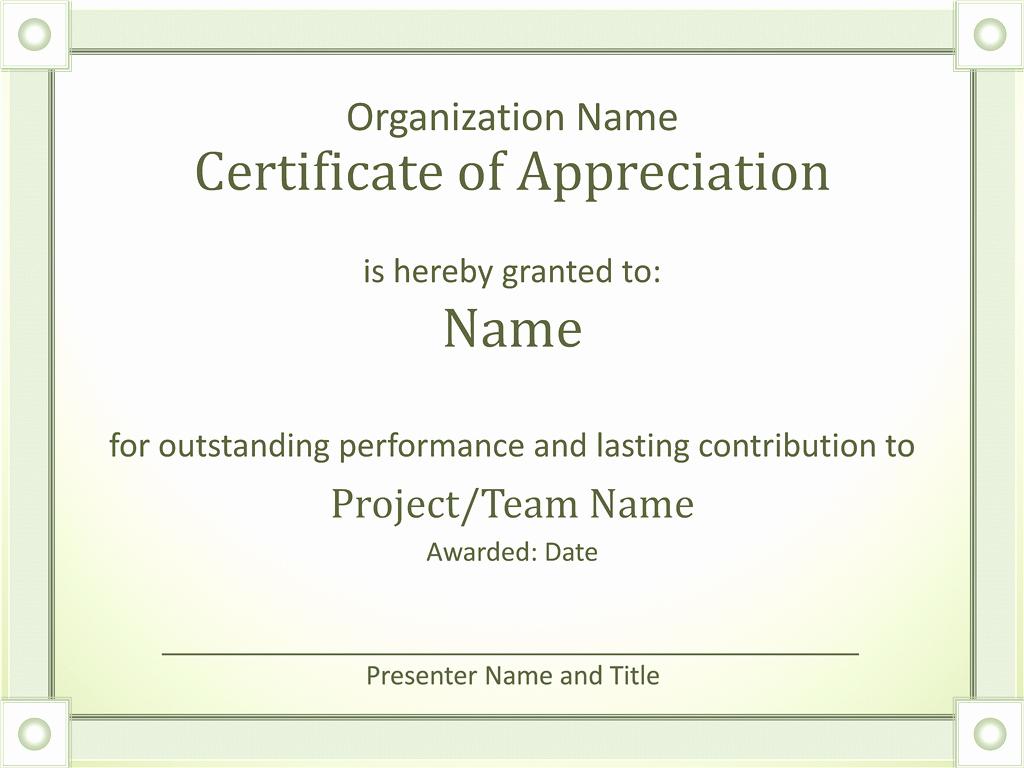 Template for Certificate Of Appreciation Best Of Army Certificate Appreciation Template Example Mughals
