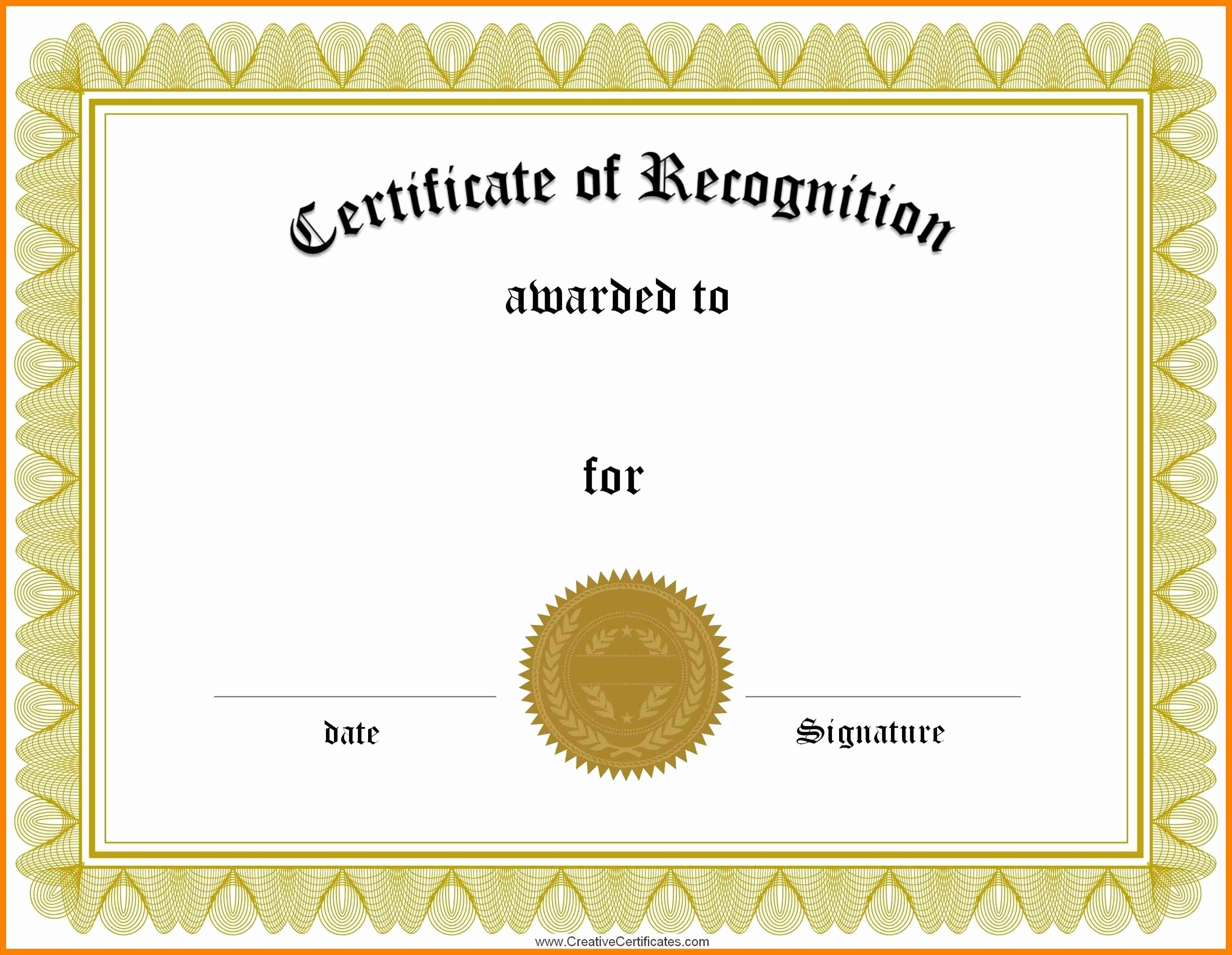 Template for Certificate Of Appreciation Fresh 18 Sample Certificate Of Appreciation