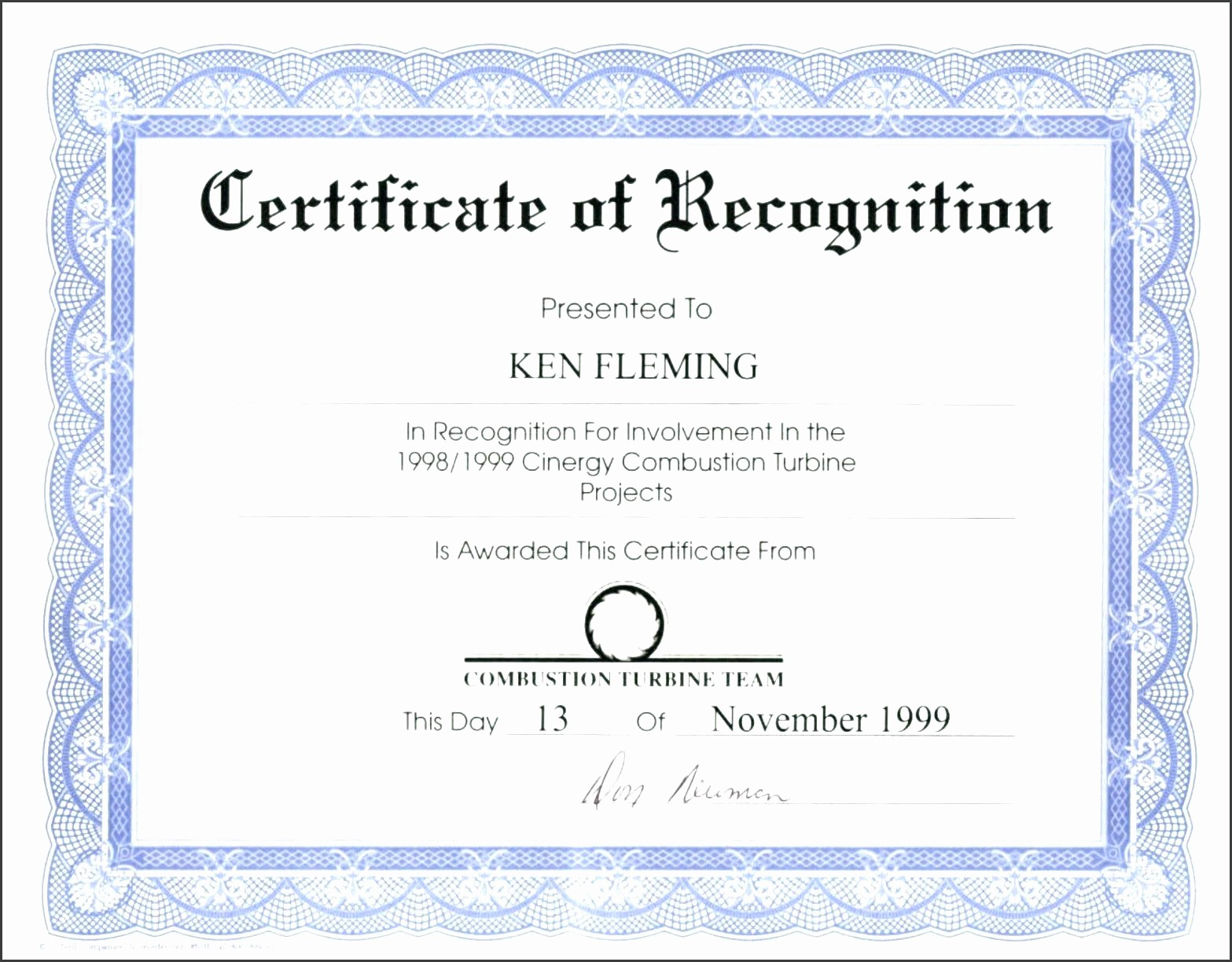 Template for Certificate Of Appreciation Fresh Template Certificate Appreciation Template for Word