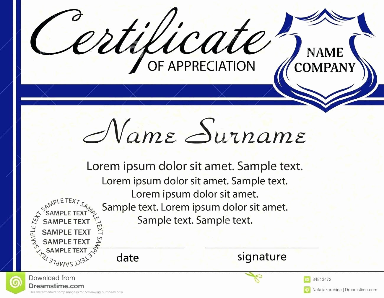 Template for Certificate Of Appreciation Lovely Template Employee Recognition Award Template