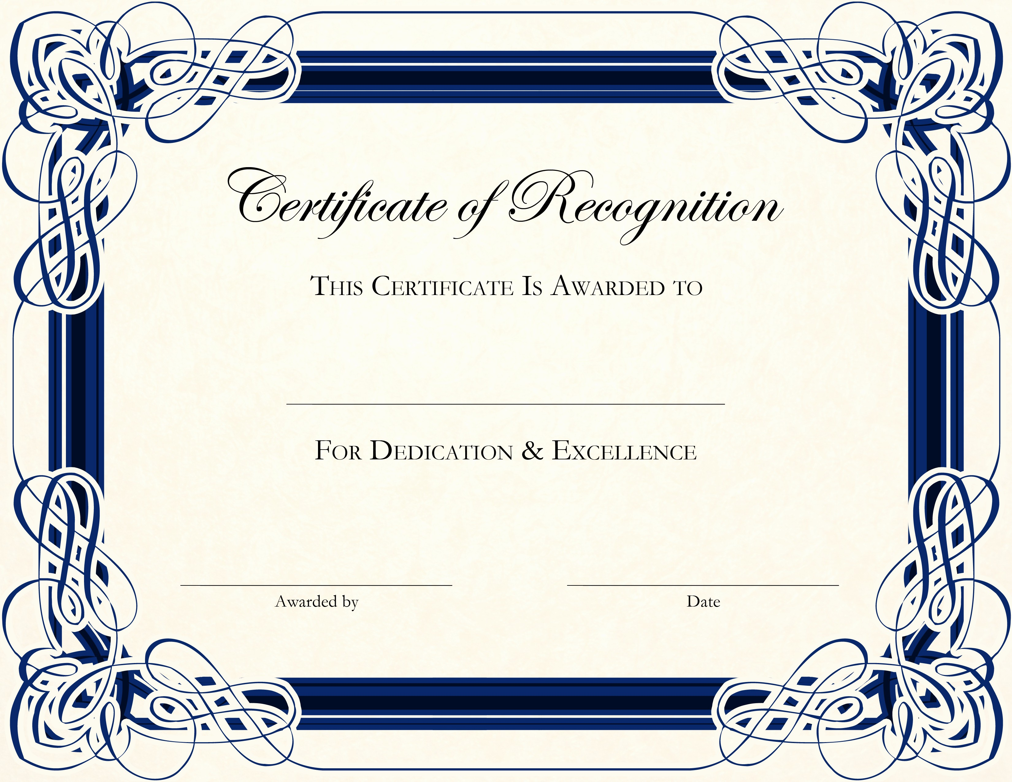 Template for Certificate Of Appreciation Lovely Templates for Certificates Appreciation