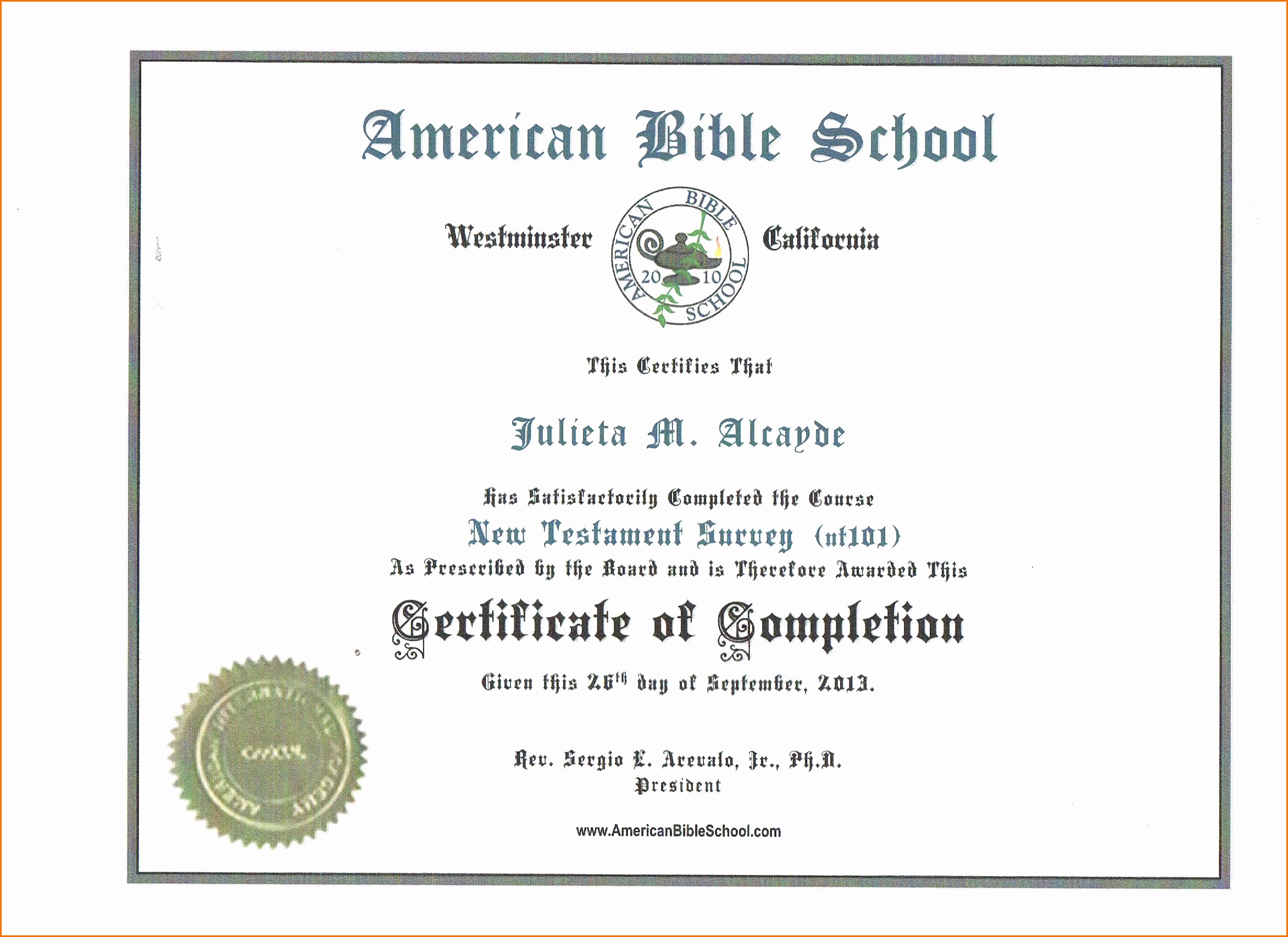 Template for Certificate Of Completion Awesome Template Certificate Pletion Portablegasgrillweber