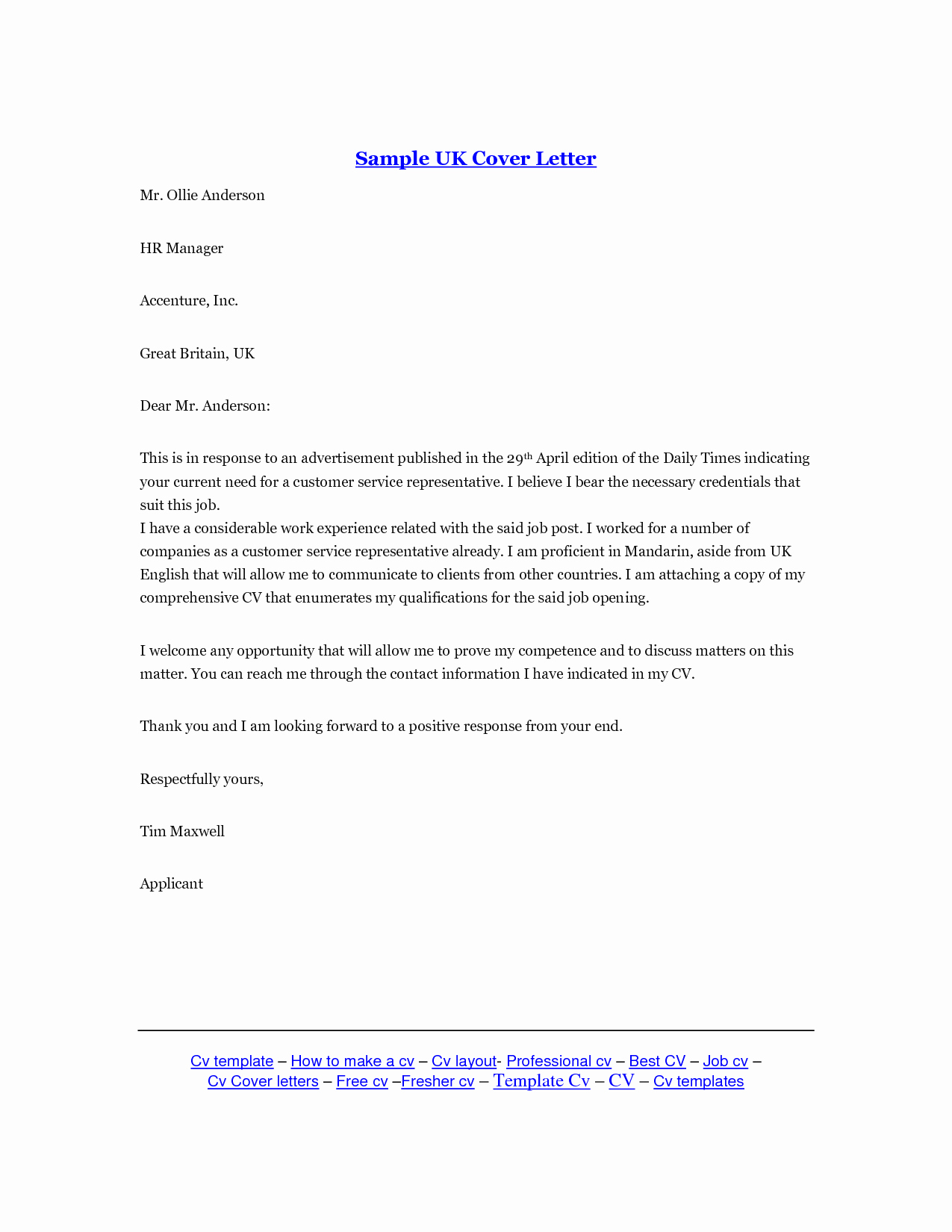 Template for Cover Letter Free Lovely Letter Template Uk
