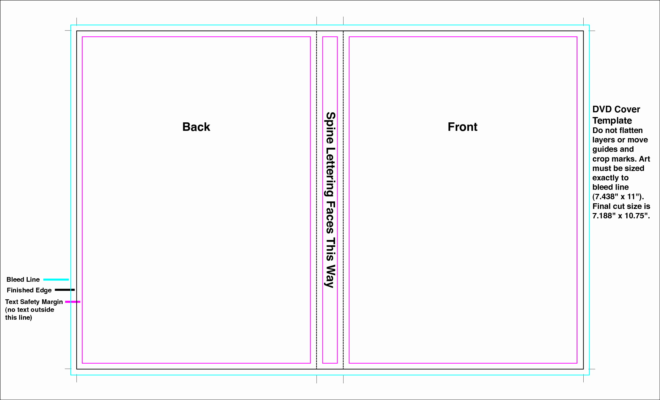 Template for Dvd Case Insert Awesome Dvd Case Template