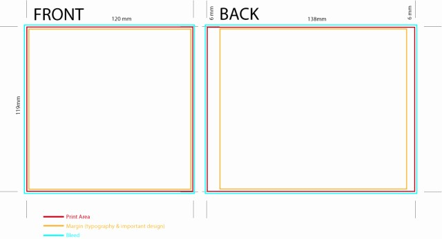 Template for Dvd Case Insert Beautiful Cd Cover Template Making A Big Thank You