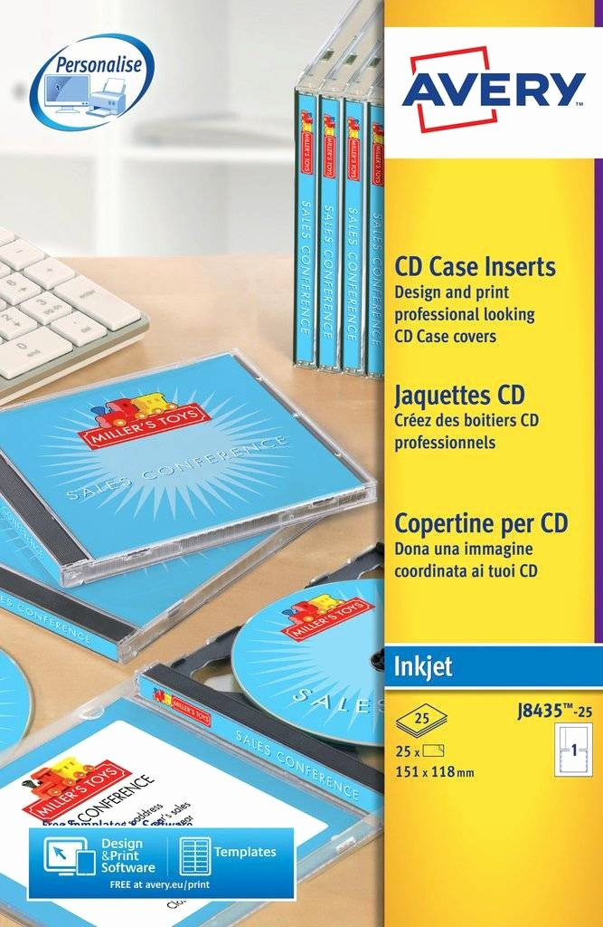 Template for Dvd Case Insert Best Of Cd Case Inserts J8435 25