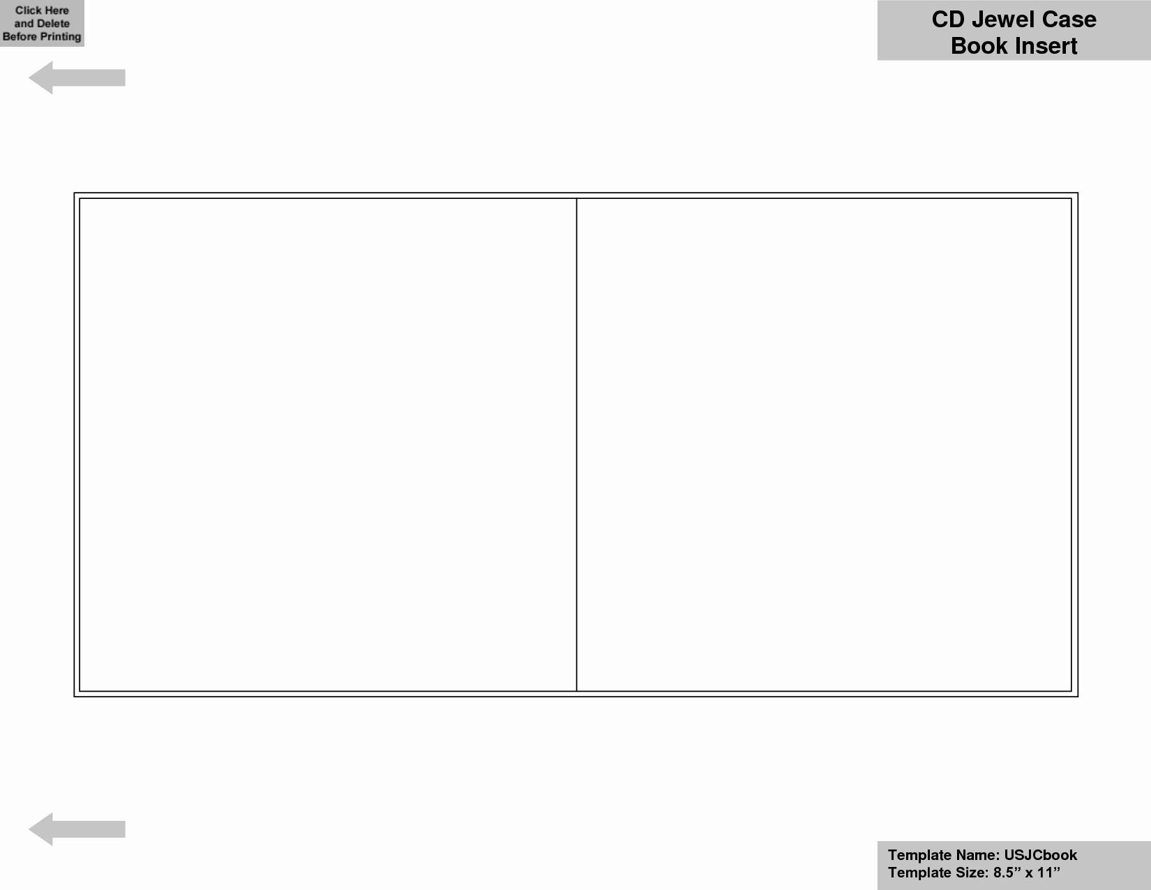 Template for Dvd Case Insert Fresh Blank Cd Insert Template Templates Resume Examples