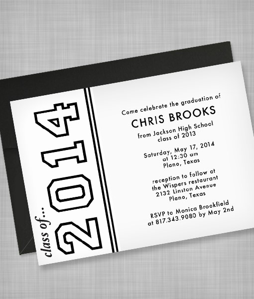 Template for Graduation Party Invitation Beautiful High School Graduation Invitation Template – Download & Print