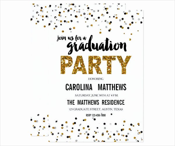 Template for Graduation Party Invitation Best Of 9 Party Invitation Banner Designs & Templates Psd