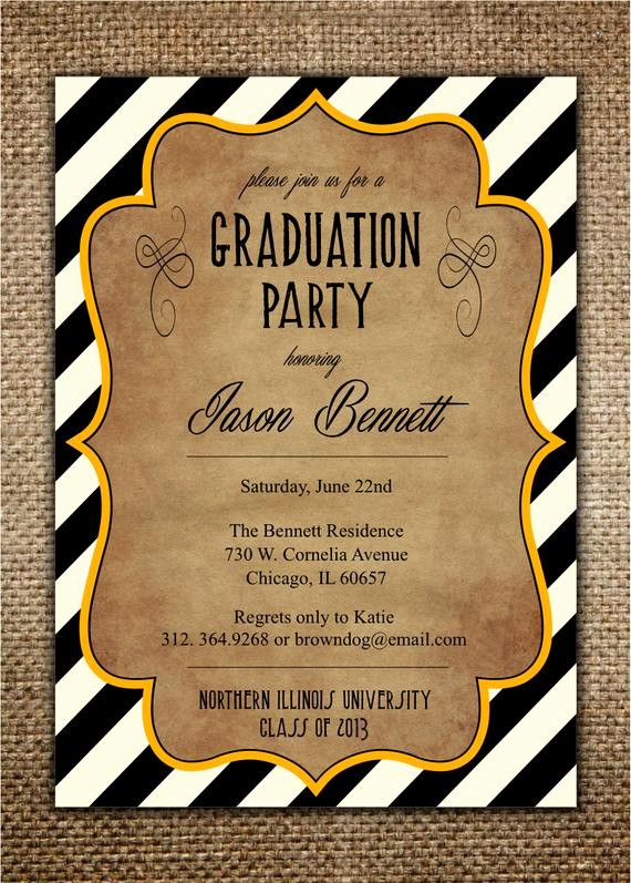 Template for Graduation Party Invitation Best Of Graduation Party Invitation High School College