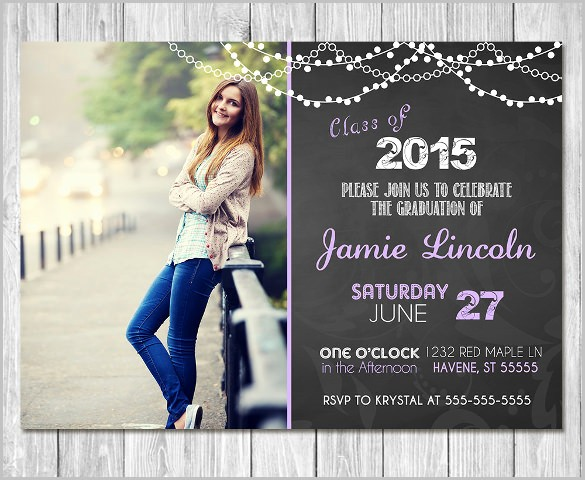 Template for Graduation Party Invitation Fresh 19 Graduation Invitation Templates Invitation Templates