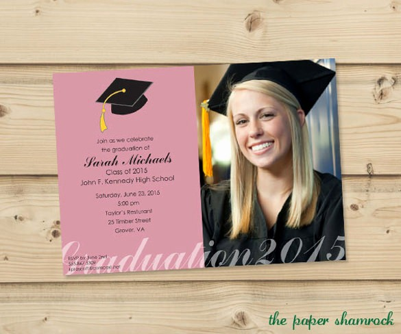 Template for Graduation Party Invitation Fresh 77 formal Invitation Templates Psd Vector Eps Ai