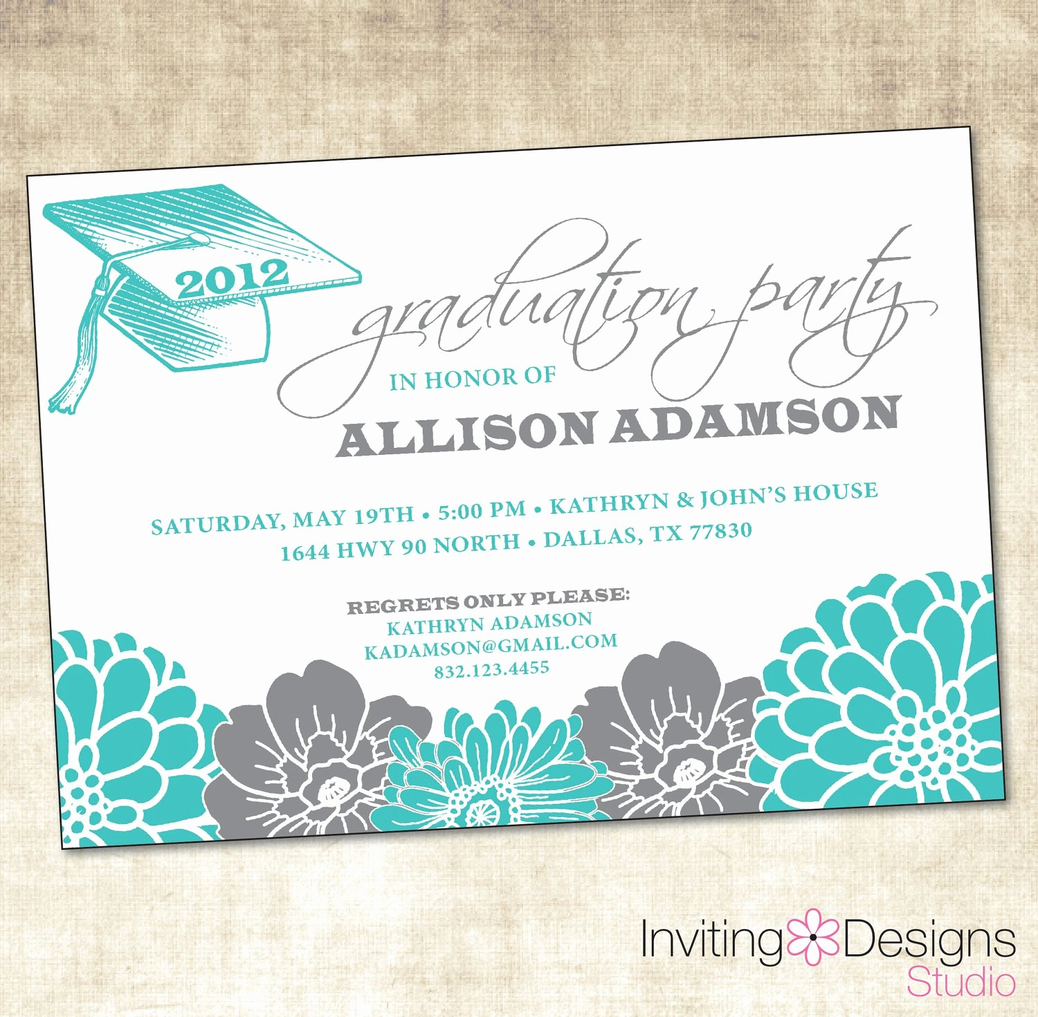 Template for Graduation Party Invitation Inspirational Graduation Invitation Free Graduation Invitation
