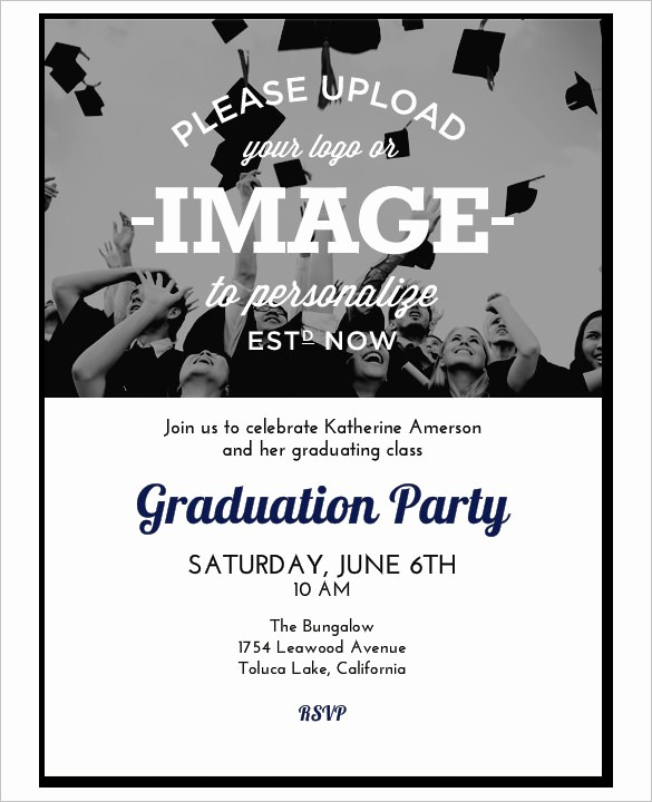 Template for Graduation Party Invitation Lovely Invitation Template 43 Free Printable Word Pdf Psd