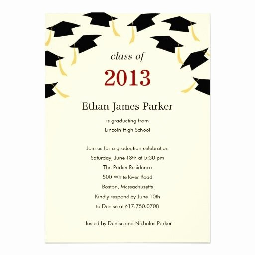 Template for Graduation Party Invitation Luxury 20 Best Graduation Party Invitations Templates Images On