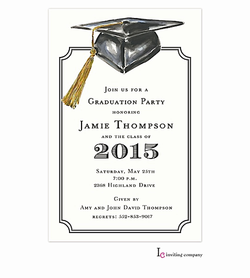 Template for Graduation Party Invitation Unique 7 Best Of Graduation Party Invitations Free