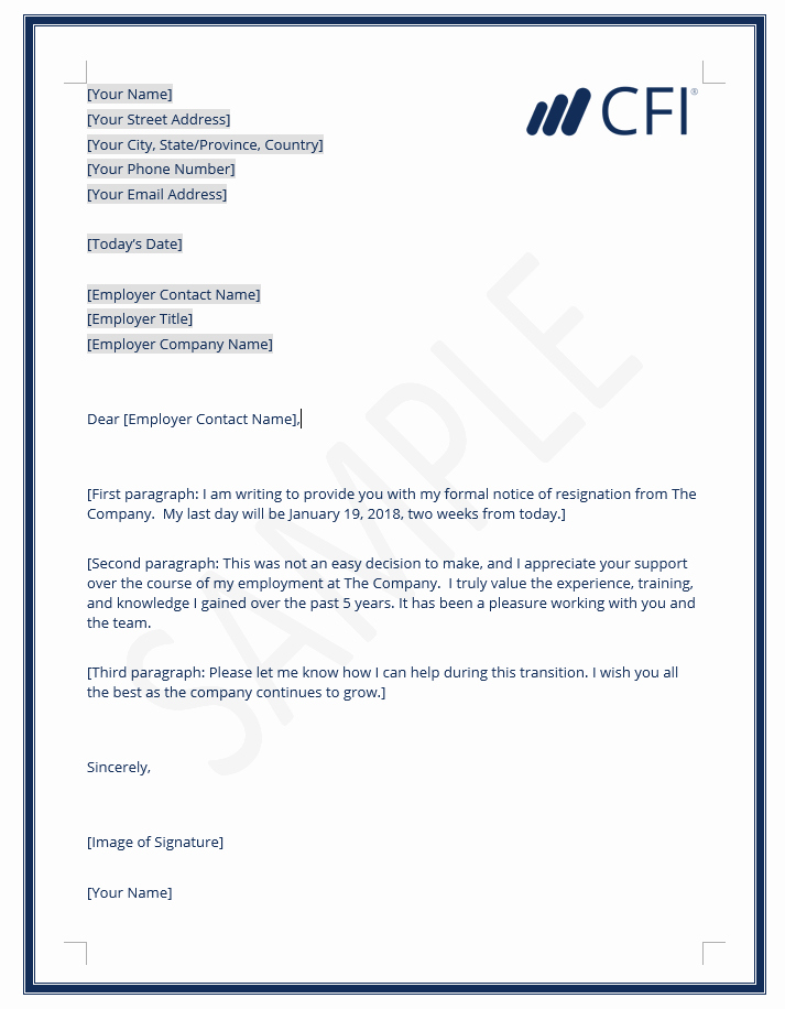 Template for Letter Of Resignation Beautiful Resignation Letter How to Write A Letter Of Resignation