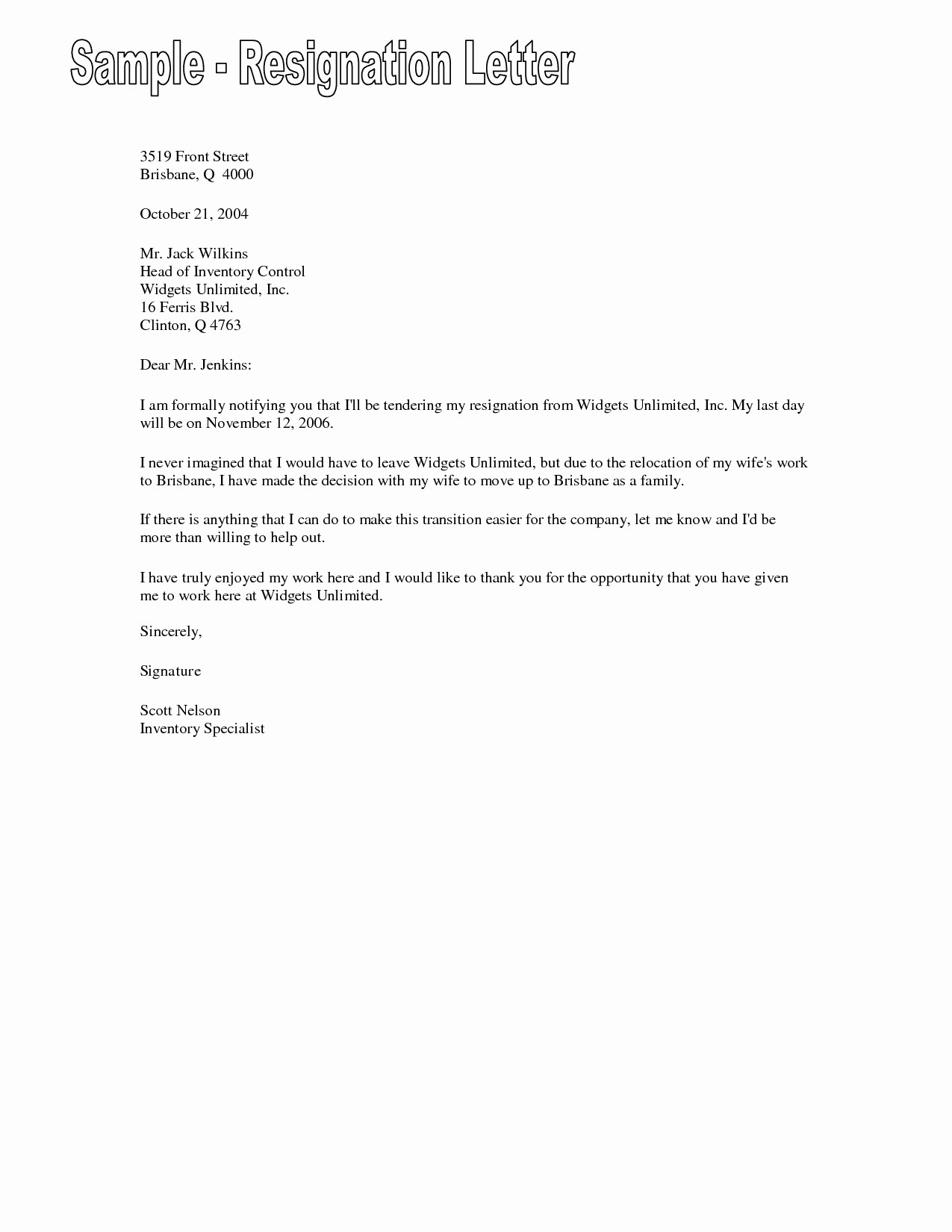 Template for Letter Of Resignation Luxury Job Resignation Letter Sample Template