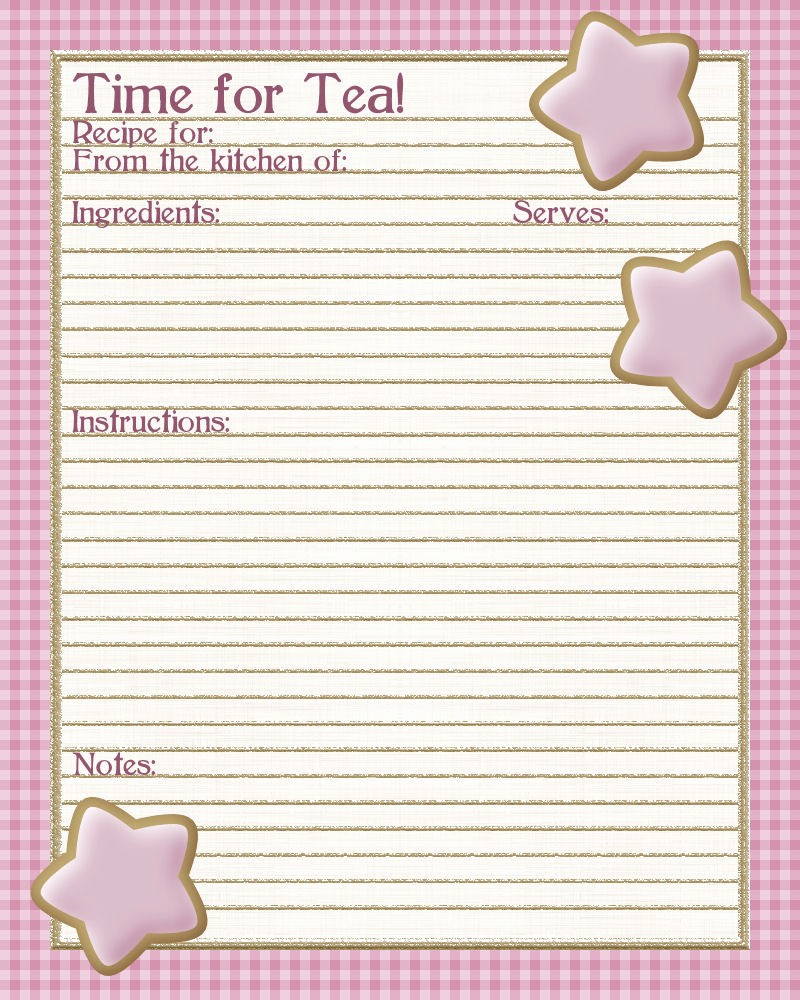 Template for Recipes Full Page Awesome 4 Best Of Printable Recipe Sheets Full Page
