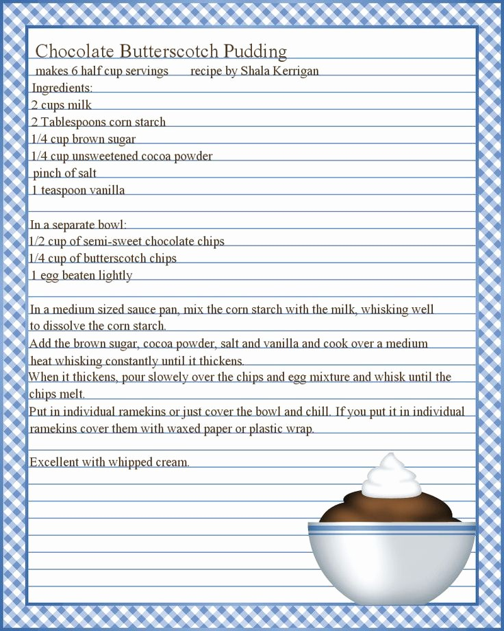Template for Recipes Full Page Luxury Best 25 Recipe Templates Ideas On Pinterest