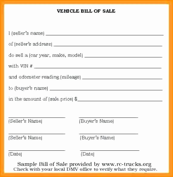 Template for Selling A Car Lovely Sale Receipt format Vehicle Sale Receipt form Sample Car