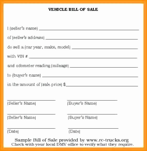 Template for Selling A Car Unique Sale Receipt format Vehicle Sale Receipt form Sample Car